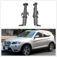 2 шт.(левый+ правый) для BMW X3 F25 2011 2012 2013 авто-Стайлинг фар подъемный цилиндр распылительная Форсунка