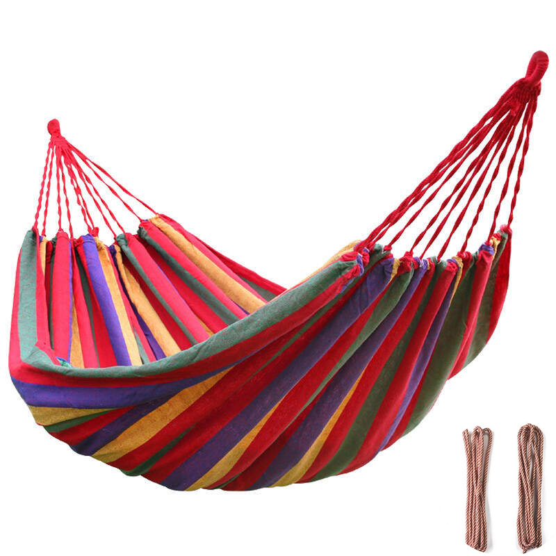 Travel Hunting Hammocks 1-2 People Hamac Outdoor Leisure Hanging Chair Double Hammock Camping Sleeping Swing Canvas Bed modern hammocks outdoor hammock chair