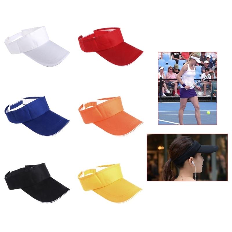 Tennis Cap Summer Sun Visor Hats Male Female Adjustable Travel Hat For Women Men