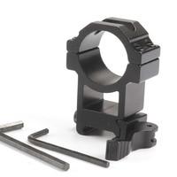 Hunting Accessories Tactical 30mm Scope Mount QD Rifle 20mm Picatinny Adapter Weaver 63mm Barrel QD 30mm