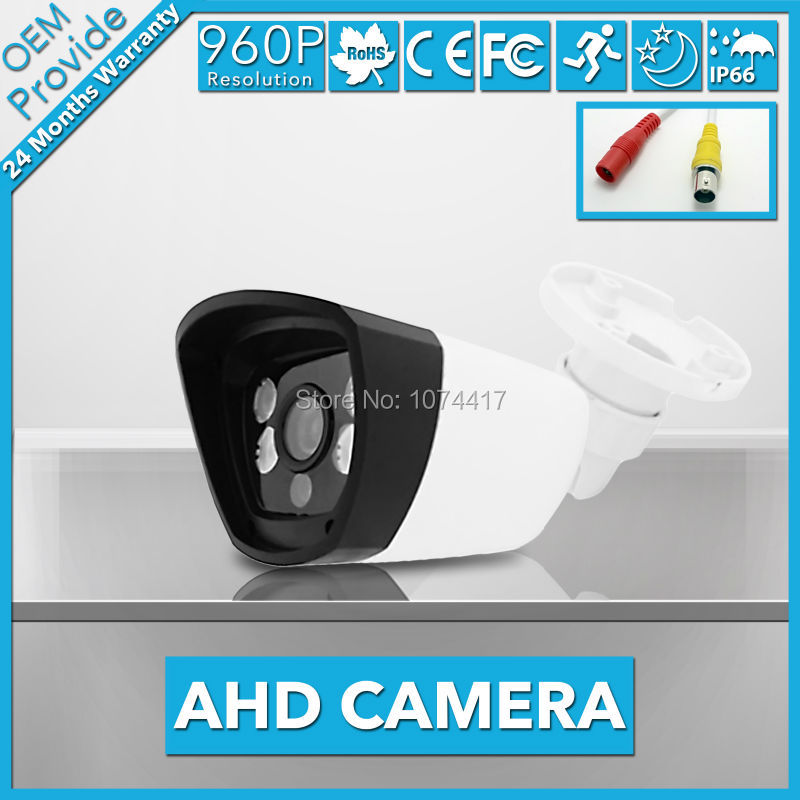 AHD4130LP-E Free Shipping 1.3MP camera High power 4 LED Light 960P clear night vision IR filter serveillance camera hot ahd camera 960p 1 3mp sony imx238 chip high power array leds waterproof clear night vision ir filter 1 3 serveillance camera