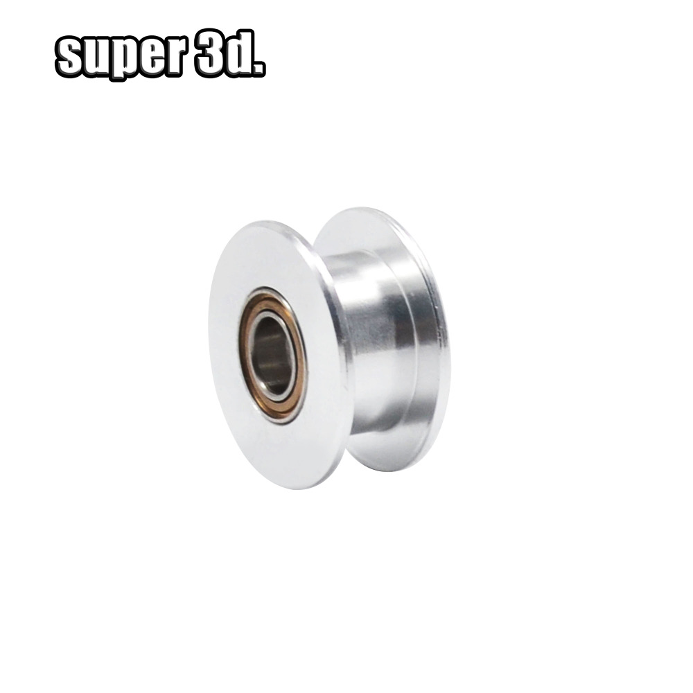 3D Printer GT2 Idler Timing Pulley 20T Bore 5mm OD 18mm Use For Width 10mm Belt Without Tooth