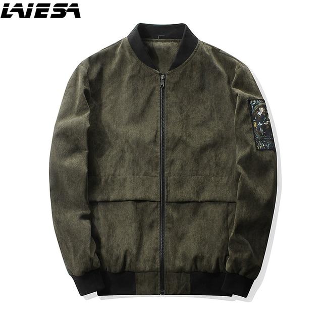 the latest 3813b a5263 US $36.99 |LIESA Jacken Männer Mode Lässig Mann Jacke Herbst Winter Vintage  Sportswear Bomberjacke Herren Mantel Plus Größe M 4XL in LIESA Jacken ...