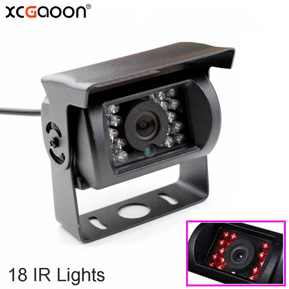 1X 24 LED 170Degree Bus Night Vision Car Rear Camera Waterproof adjustment IP67