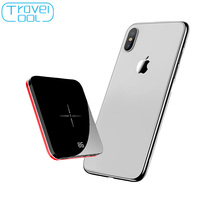 Travelcool 8000mAh Wireless Power Bank Wireless Power Bank Bateria Externa Movil Power Bank Qi Poverbank Phone Accessories Mobil