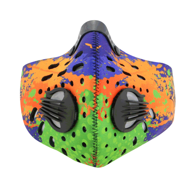 Prix pour La moitié du visage masque sport course à pied cyclisme masque pour vélo vélo matériel d'équitation PM2.5 poussière preuve air pollution vtt bisiklet maske