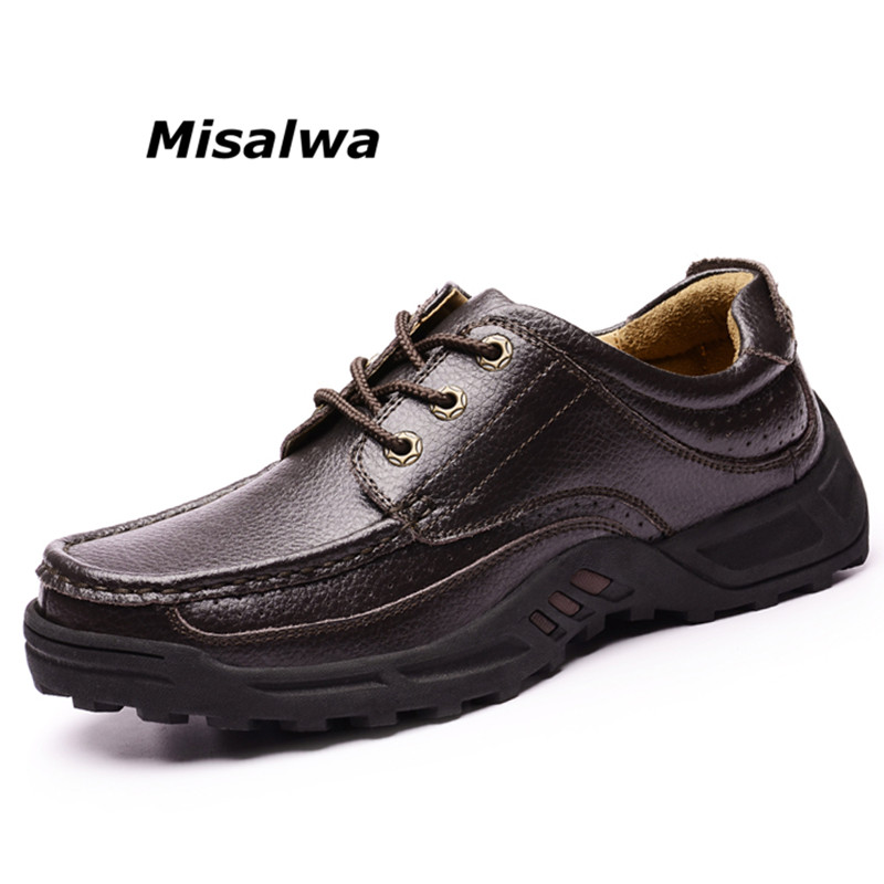 2019 Fashion Men Formal Leather Shoes Slip on Luxury Man Flats Casual Shoes Spring Autumn Male
