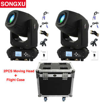 230W LED Moving Head Spot Zoom Light LED Lyre with Flight Case for DJ Nightclub Party/SX-MH230A - DISCOUNT ITEM  5 OFF Lights & Lighting