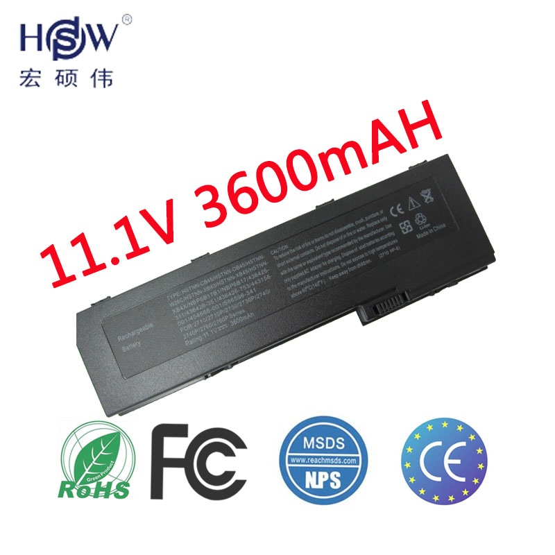HSW Laptop Battery FOR HP 2710P 2730p 2740P 2760P HSTNN-CB45 HSTNN-OB45 HSTNN-W26C HSTNN-XB43 HSTNN-XB45 HSTNN-XB4X NBP6B17B1