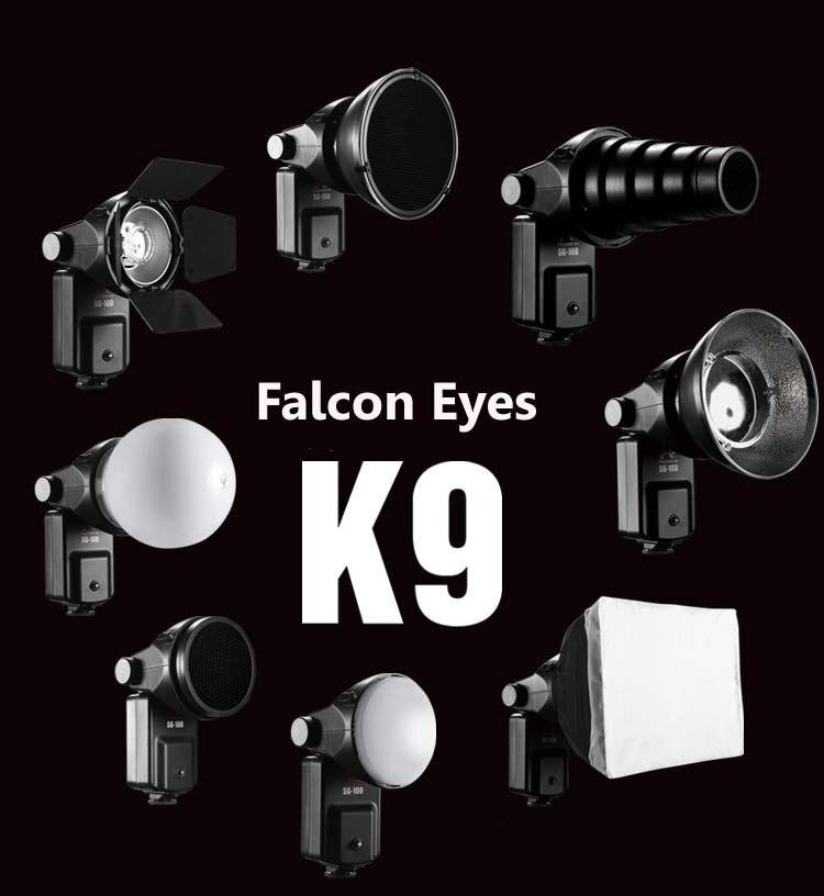 FALCON EYES Speedlite Accessories Kit SGA-K9 for Nikon SB 910 900 800 700 600 Canon 580EX II 430EX II 600EX-RT