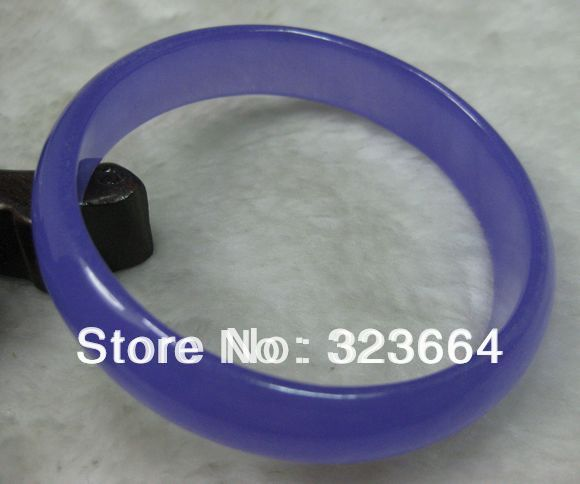 CHARMING PURPLE BRACELET BANGLE 62MM