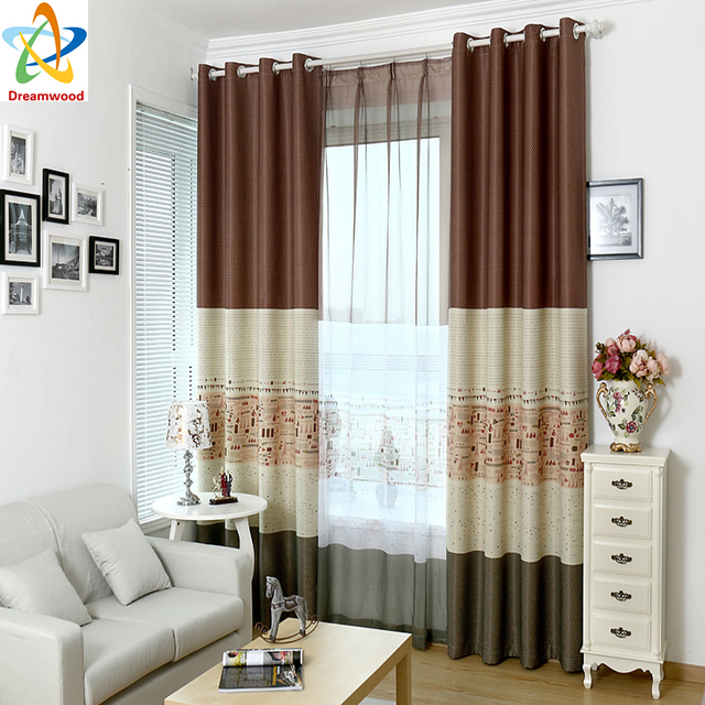 Dreamwood High Shading Printed Window Curtains Eco Friendly Blackout Living  Room Curtain Small Airplane Printed