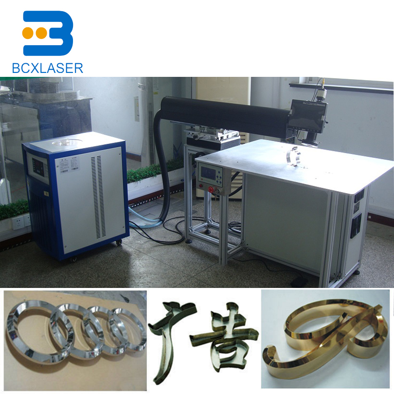 Machine professionnelle de soudure de laser de mot de la publicité 300 W pour l'acier inoxydable de matériaux en métal