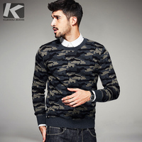2016 Autumn Mens Fashion Sweaters 100 Cotton Camouflage Knitted Brand Clothing Man S Knitwear Pullovers Knitting