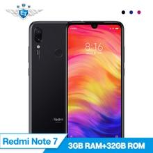 Küresel ROM Xiaomi Redmi Not 7 3 GB 32 GB Snapdragon 660 48MP Çift Kamera 13MP 6.3 ''Su Damla 19.5: 9 ekran Cep Telefonu 4000 mA...
