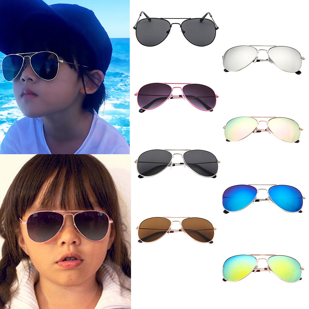 Cheap Price Fashion Vintage Eyewear Kids Trendy Sunglasses Boys Girls Popular Uv400 Ce Certified Prevent Sunglasses Children Dropshipping Boy's Accessories