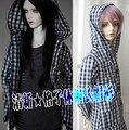 1/4 1/3 SD17 uncle BJD SD Doll accessories Bjd clothes plaid shirt coat