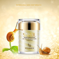 Snail Face Cream Collagen Essence Facial Skin Care Moisturizing Anti Aging Anti Wrinkles Whitening Day and Night Creams 60G 2