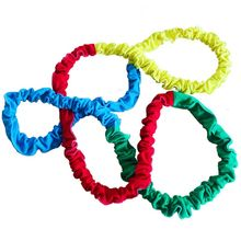 Good Quality New 12Feet Elastic Fleece Cooperative Stretchy Band Exercise Group Activities-random color