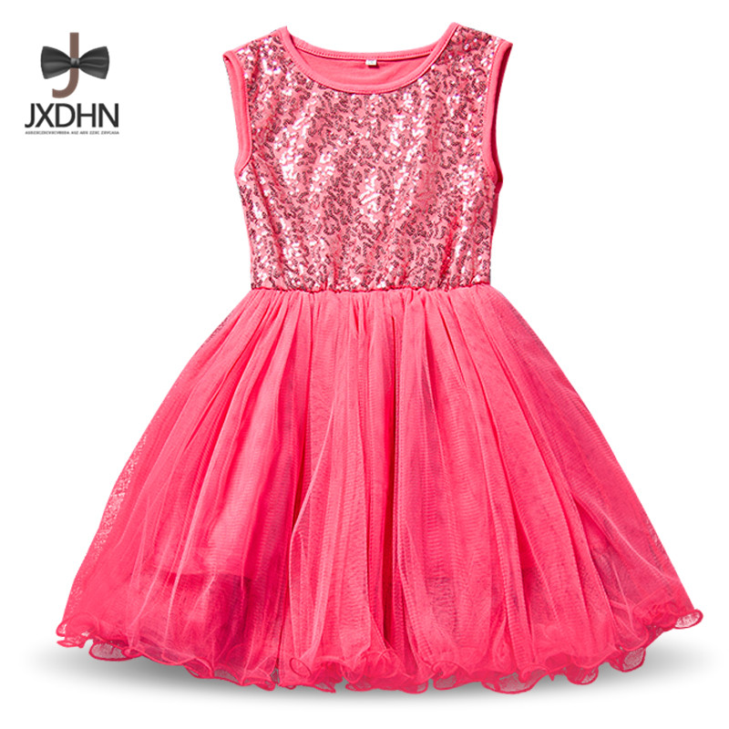 2018 Summer New Fashion Dress For Junior Senior Girl Brief Style Little Ball Gown Christening Clothing For 2-9 Yrs Girls Vestido 4pcs new for ball uff bes m18mg noc80b s04g