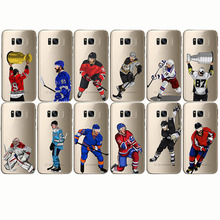 Ice hockey Cartoon Alexander Ovechkin Phone Case Cover Soft Silicone TPU  For samsung S6 S7 edge Note10 s8 S9 S10plus
