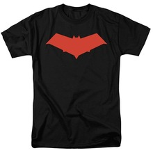 2017 Hot Sale Fashion Red Hood Jason Todd Comics Superhero T Shirt Mans Fashion Novelty Short Sleeve Tee Tops Clothes