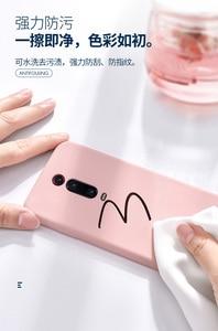 Image 4 - For Xiaomi Mi 9T Pro Case Soft Liquid Silicone Slim Skin Protective back cover Case for Xiaomi mi 9t mi9t full cover phone shell
