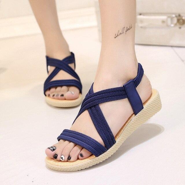 ad561e87b9 Women sandals 2018 fasion bohemia style summer sandals women shoes ...