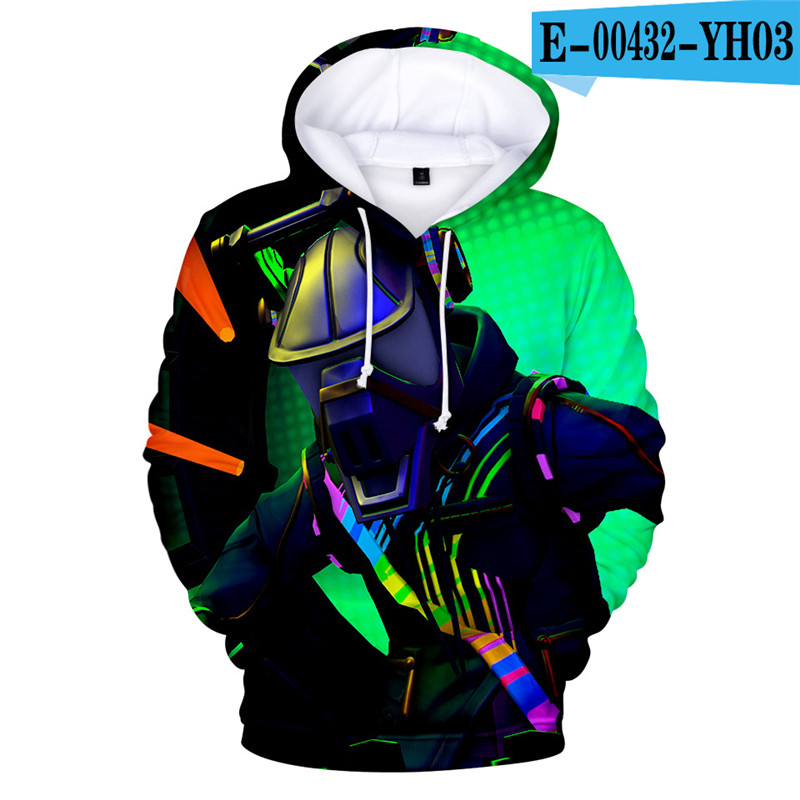 Fortnited Battle Royale Hoodie Game Hoodies Children Popular Clothings Fornit Women Clothes Game Clothings Popular Clothes Boys