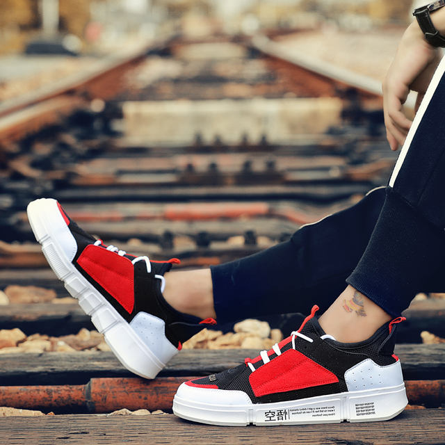 BomKinta New Colorful Casual Shoes Men Brand Sneakers Men Breathable Mans Footwear Mixed Colors Men Shoes Walking Male Flats