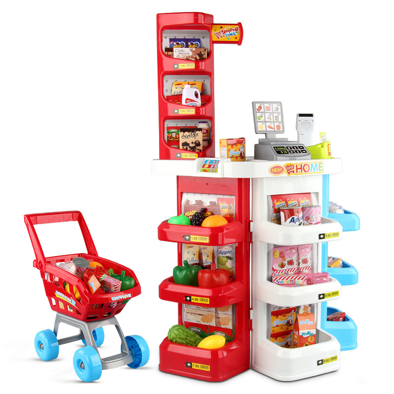Supermarket Mini Shop Shopping Grocer Minimarket Till Regist