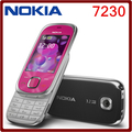 7230 Оригинал Nokia 7230 Bluetooth FM JAVA 3.15MP Разблокирована сотовый Телефон Один год гарантии Бесплатная Доставка
