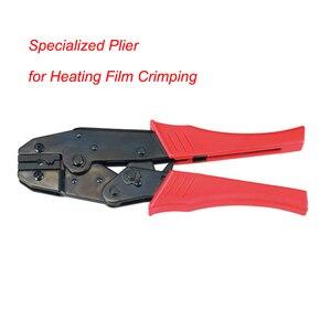 Image 4 - HS 11 Gespecialiseerd Tang voor Infrarood Carbon Vloerverwarming Film Krimpen Tang