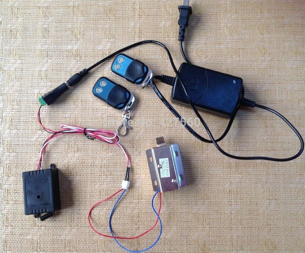 fjernbetjenings kabinet elektronisk lås Elektrisk skruelås til - Sikkerhed og beskyttelse - Foto 2