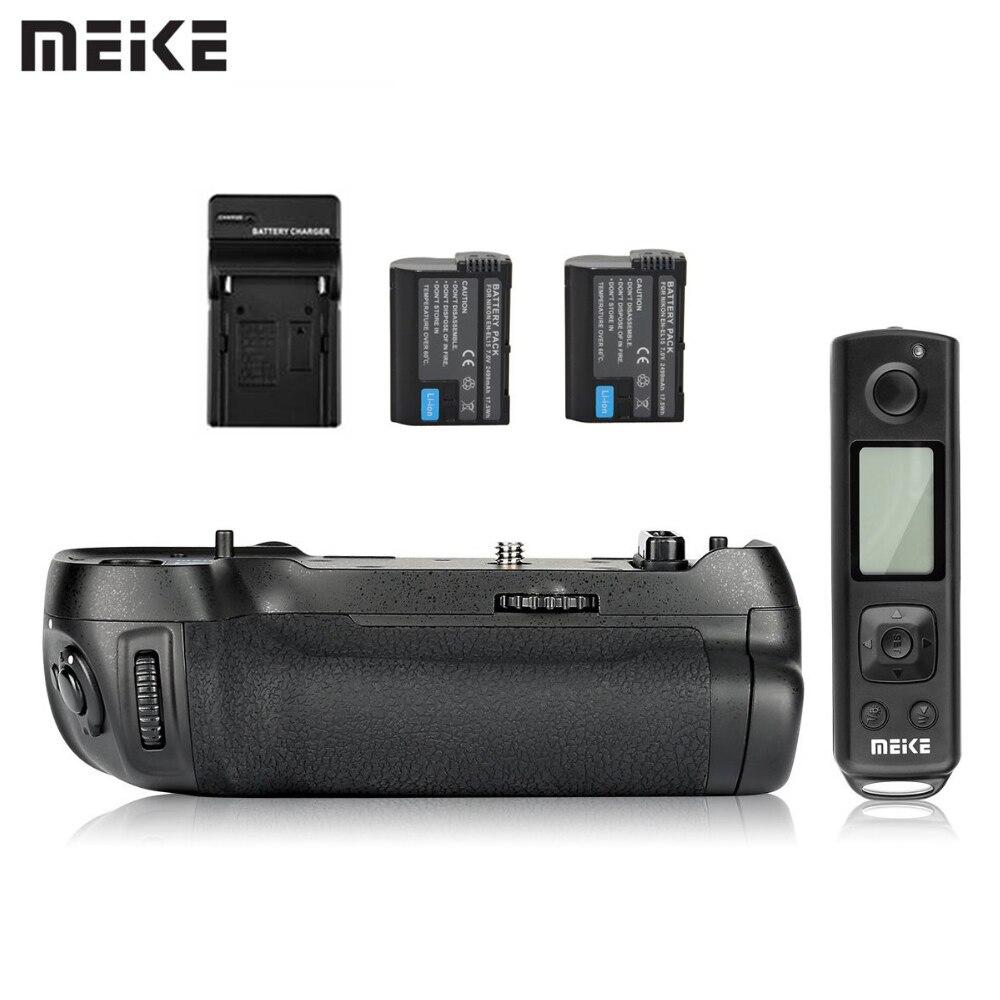 Bloco de Poder Aperto Da Bateria Meike MK-D850 Pro Disparo Vertical com 2.4G Hz Câmera Remoto Sem Fio para Nikon D850 Com bateria