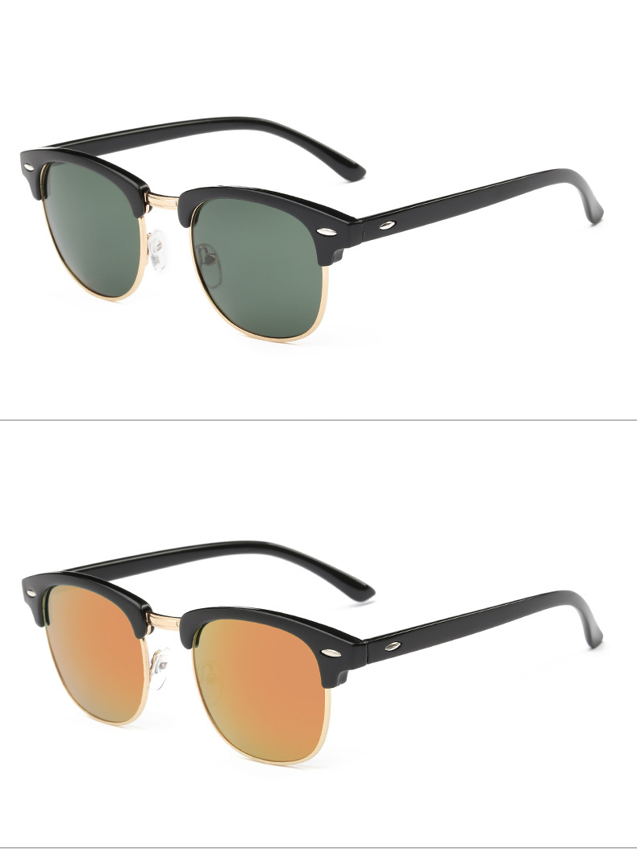 Luxury Square Men Sunglasses Women Brand Designer 2017 Retro Vintage Sun Glasses For Women Men Male Lady Female Sunglass Mirror (15)