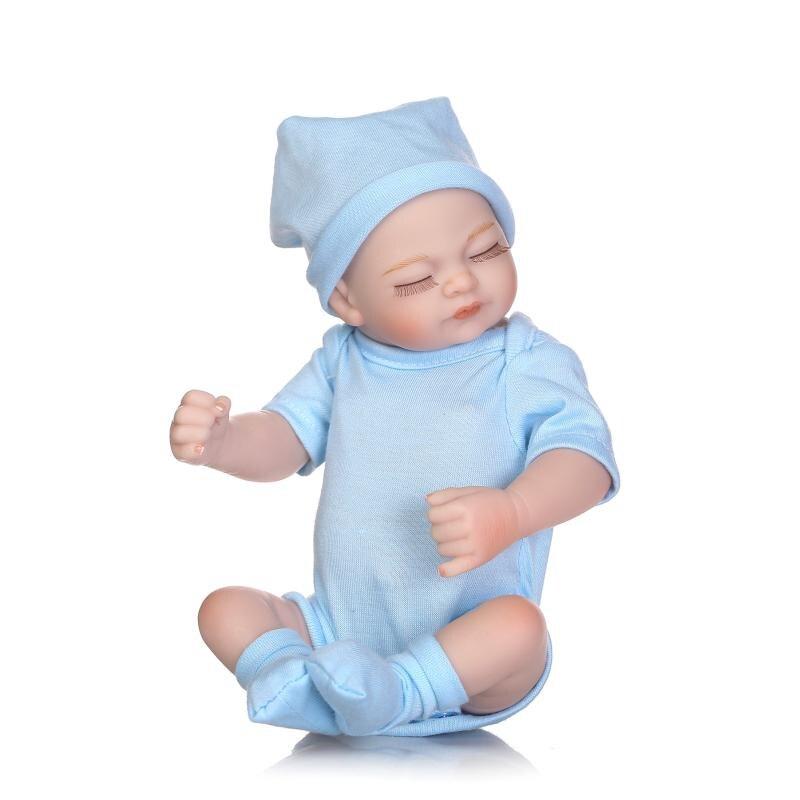 Toys & Hobbies Dolls & Stuffed Toys Radient Boy Doll Reborn 1640cm Soft Silicone Reborn Baby For Children Gift Toys Bebe Alive Reborn Bonecas Npk Reborn Dolls