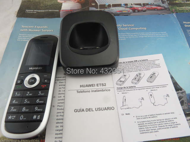 HUAWEI ETS2 Portable GSM/3G(WCDMA) Fixed Cordless phone FCP