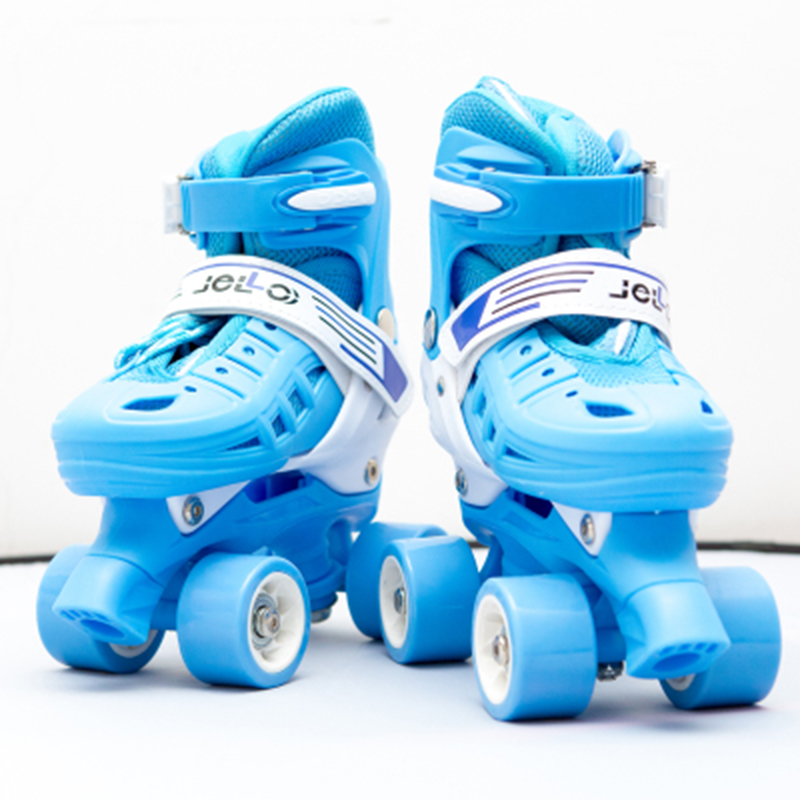 Children Adult Parenting Two Line Roller Shoes Skating 4 wheels Double Row Skates Patins Kids PU Wheels Adjustable Unisex IB42 girls and ladies favorite white roller skates with full grain genuine leather dual lane roller skate shoes for adult skating
