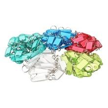 HGHO-кристально чистые красочные Ключевые ID Этикетки, 100 шт