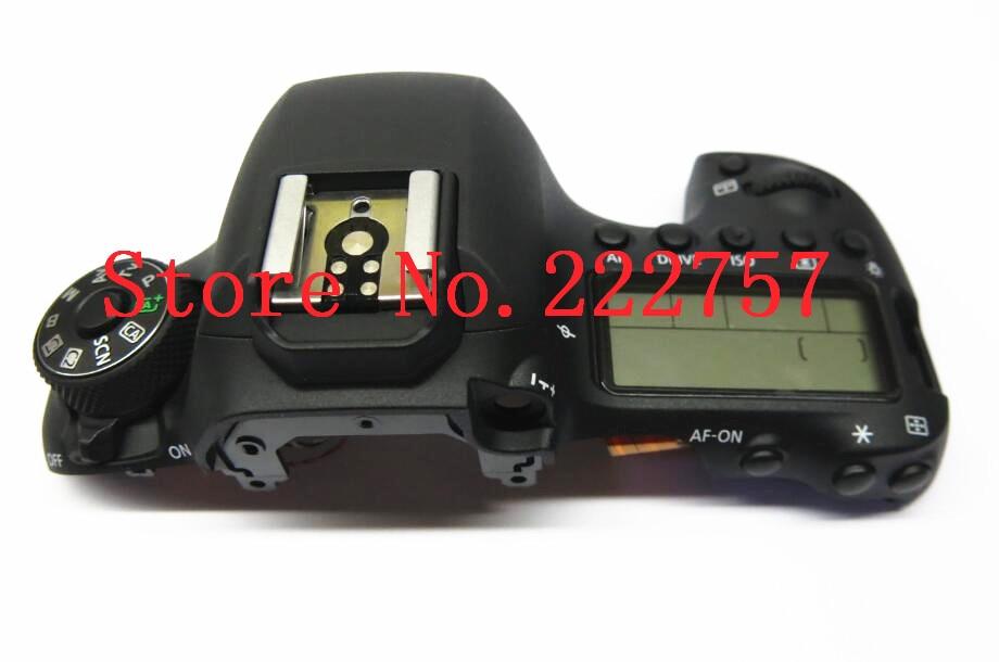 New original 6D MARK II tampa SUPERIOR para canon 6D mark 2 unidade aberta 6D II 6D2 Top com chave e lcd repair camera parte