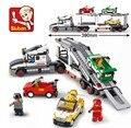 Educación de BRICOLAJE Juguetes para niños juguete del bebé Bloques De Construcción de camiones autoblocante ladrillos Compatibles con Lego