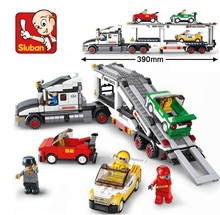 Educational DIY Toys for children baby toy Building Blocks truck self-locking bricks Compatible with Lego