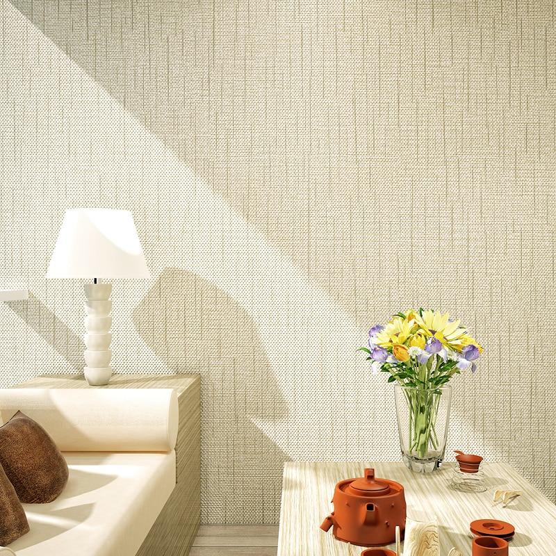 šedá stěna textura - 3D Wallpaper Modern Simple Flax Texture Plain Color Grey Wall Paper Roll Living Room Bedroom Study TV Sofa Background Wall Decor