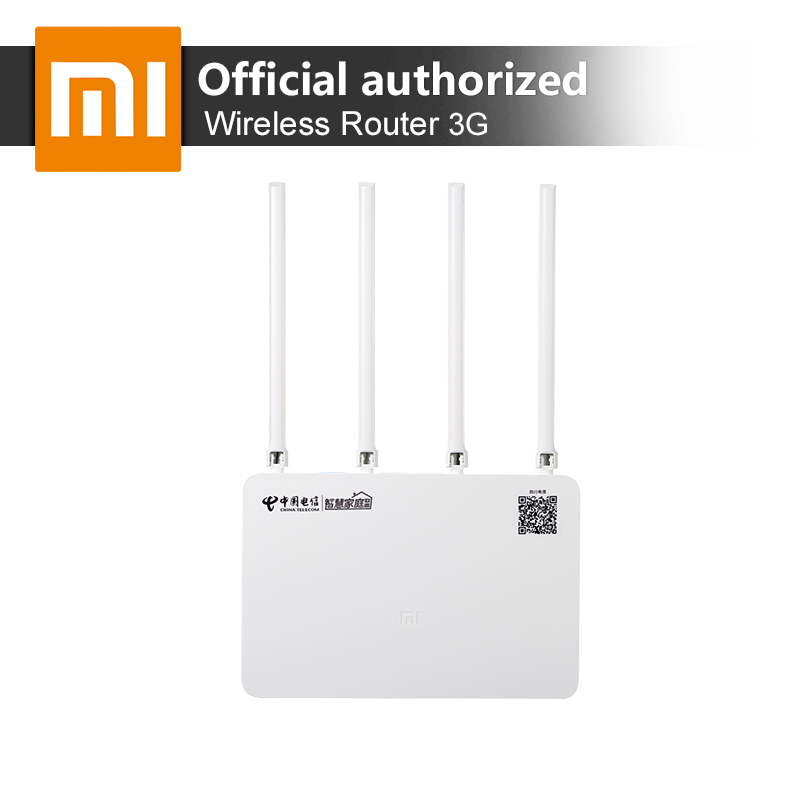 Original Xiaomi MI 3G Router WiFi Repeater 2 4G 5GHz Dual 128MB Band Flash ROM 256MB