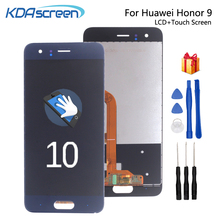 где купить Original For Huawei Honor 9 LCD Display Touch Screen Replacement For Huawei Honor 9  STF-L09 STF-AL00 Screen LCD WithFrame дешево