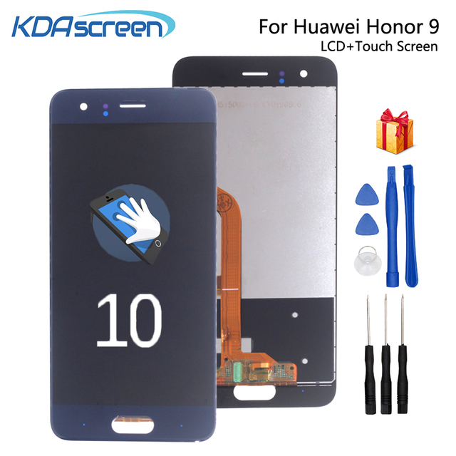 Original For Huawei Honor 9 LCD Display Touch Screen Replacement For Huawei Honor 9  STF L09 STF AL00 Screen LCD WithFrame