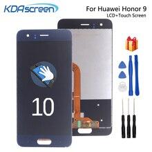 Oryginalna dla Huawei Honor 9 wyświetlacz LCD ekran dotykowy wymiana dla Huawei Honor 9 STF L09 STF AL00 ekran LCD WithFrame