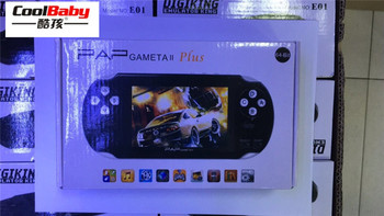 "New 16GB 3000games 4.3"" Handheld Game Player Portable  Player Digital Video Camera PAP Gameta II Video Games Camera Recorder"