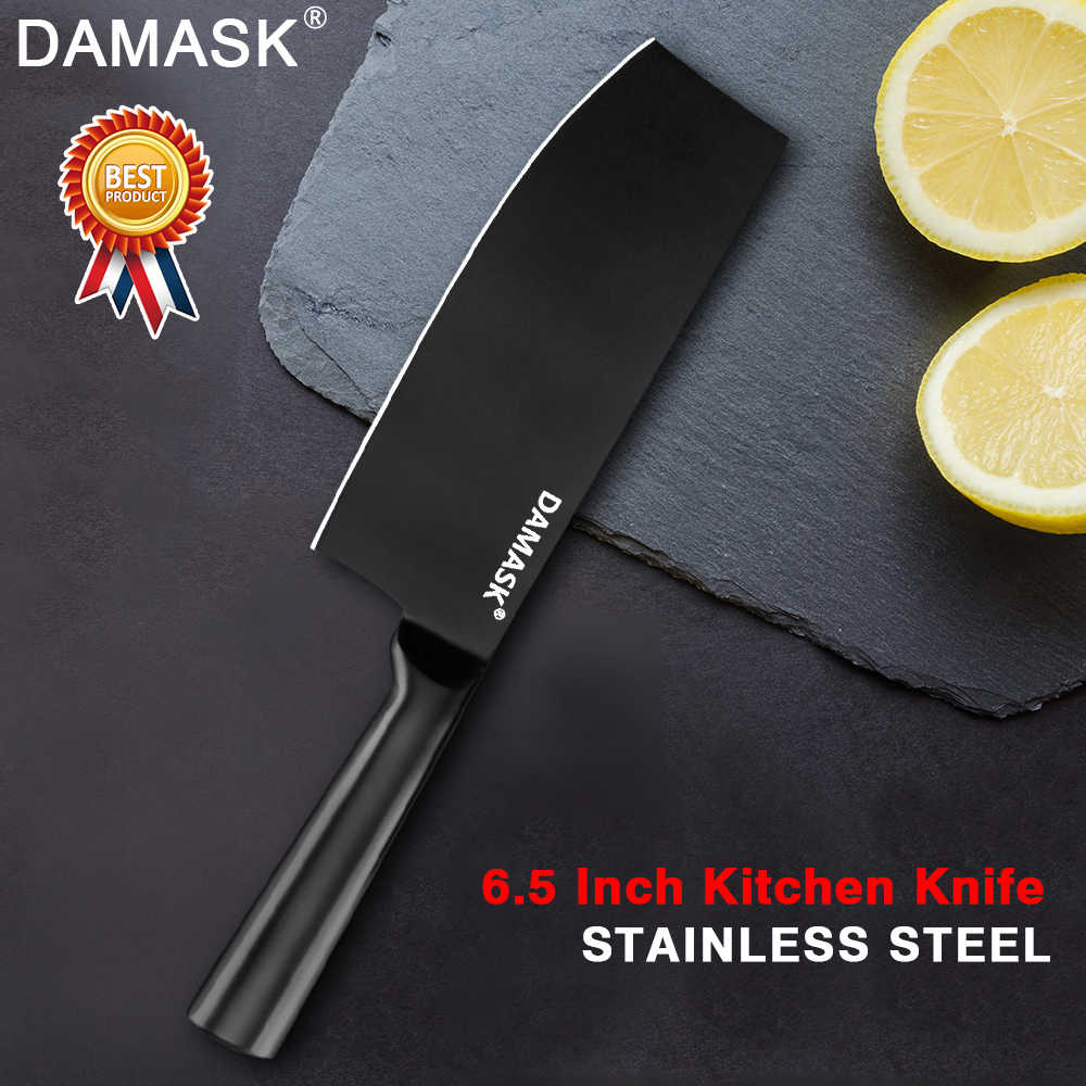Damask Santoku Chopping Nakiri Utility Steak Kitchen Knife 4Cr14mov Japanese Chef Stainless Steel Knives Cooking Accessories